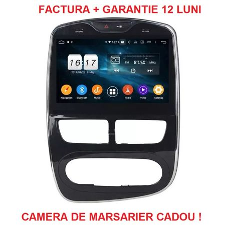 """Navigatie Renault Clio 4 ( 2012 + ) , Android Display 10 """" , Garantie"""