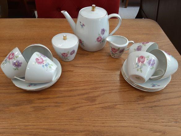 Баварски порцеланов сервиз за чай внос от Холандия