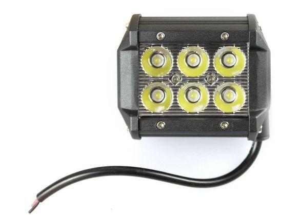 6 LED 18W ЛЕД БАР Мощен диоден фар лампа прожектор халоген