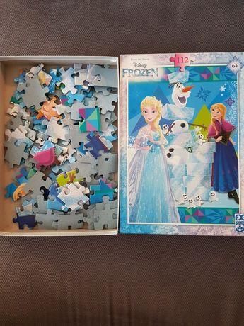 Vand puzzle Frozen 112 piese