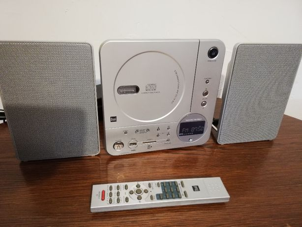 Compact Stereo System DUAL Vertical 116 (CD/MP3/FM Radio) - Germany