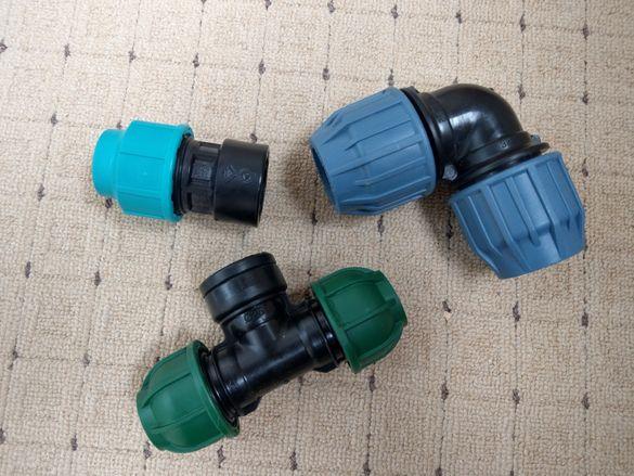 Фитинги полиетилен Тройник с вътрешна резба ф25 ф32