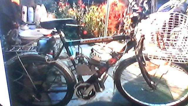 vand bicicleta cu Motor in 2 timpi