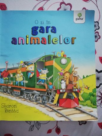 Carte pentru copii, O zi în gara animalelor