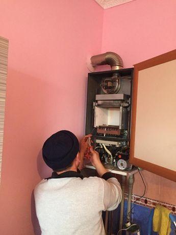 Ремонт и профилактика настенных газовых котлов колонок плит стиральных