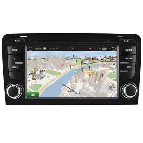 Navigatie dedicata Android 9.0 Audi A3 (8P1) GPS Waze 7 inchi 2GB RAM