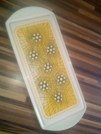 Tavă de ceramică pt. servit. Vintage