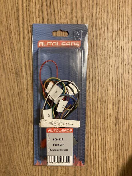 Cablu adaptor car audio saab 9-3 9-5 la radio aftermatket harness