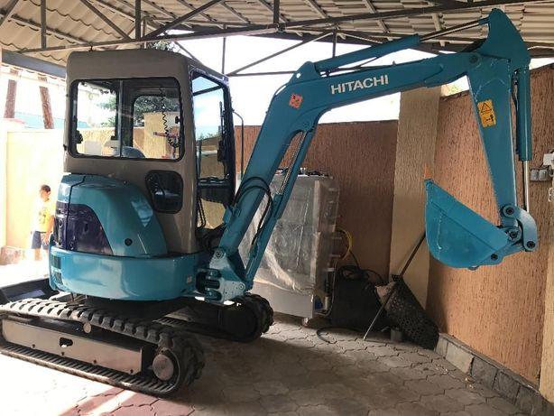 Услуги мини экскаватор .. экскаватор .. трактор ..HITACHI EX30UR-2