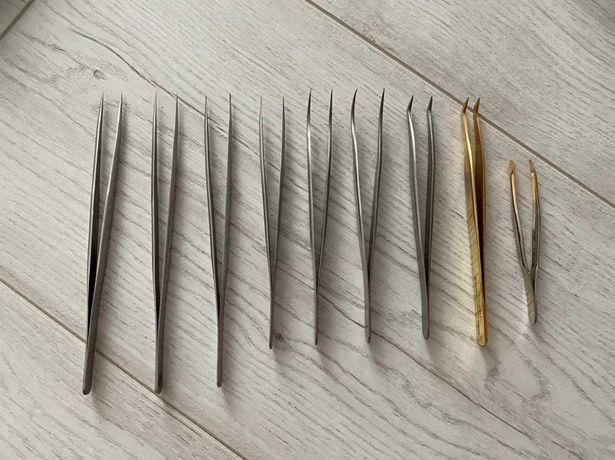 Продам набор пинцетов для наращивания ресниц