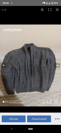 Детцка жилетка плетено