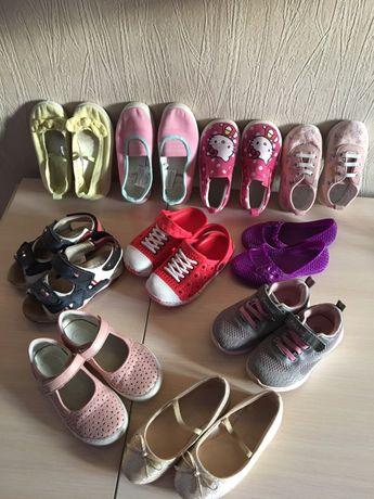 Туфельки, балетки ,кроксы