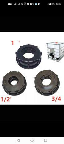 Adaptor, robinet, reducție ibc pentru bazine, cuburi de 600 și 1000 l