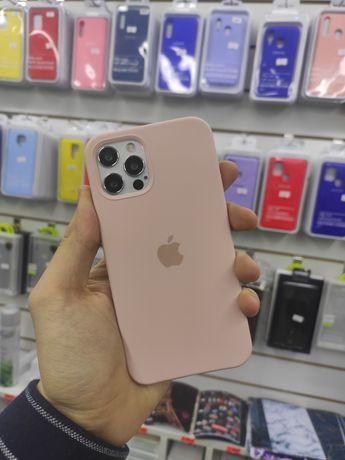 Чехол iPhone Айфон Селикон Кейс 12 12pro 12mini 12 Pro Max mini Чехлы