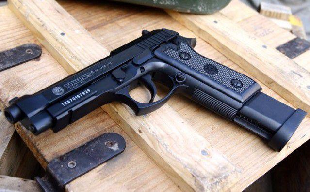 Pistol FOARTE PUTERNIC Co2 Taurus /Beretta Cu Aer Comprimat AirsoftGaz
