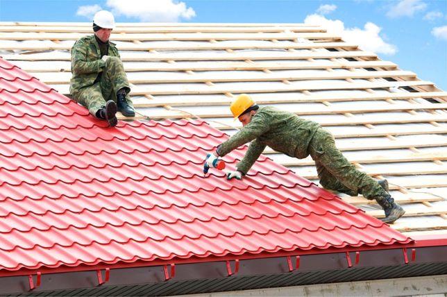 Кровельные работы, монтаж и реставрация крыш, установка быстро недорог