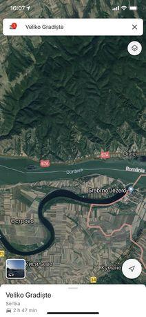 Teren Divici Dunare mal clisura schimb vand