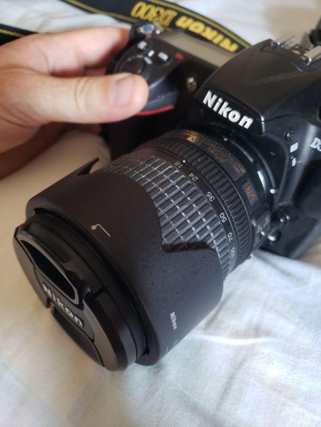 Nikon Dslr D300 full + Nikon 35/ 1.8 Af+ blitz sb
