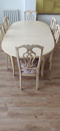 Стол обеденный Альт 24-12 + 6 стульев, Россия