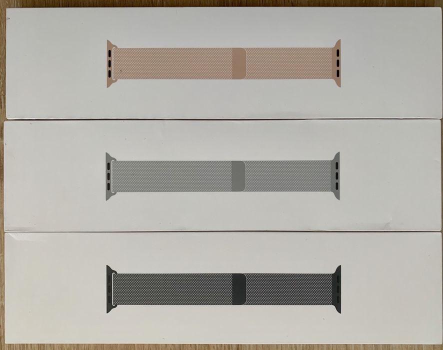 Sigilate! Curele Apple Watch 1 2 3 4 5. Milanese si Leather Loop. Bucuresti - imagine 1