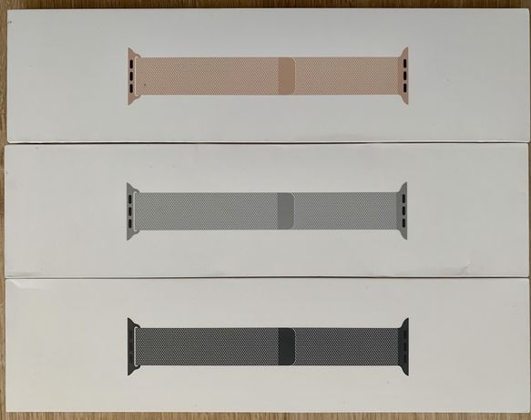 Sigilate! Curele Apple Watch 1 2 3 4 5. Milanese si Leather Loop.
