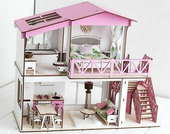 Кукольный домик для кукол лол и барби