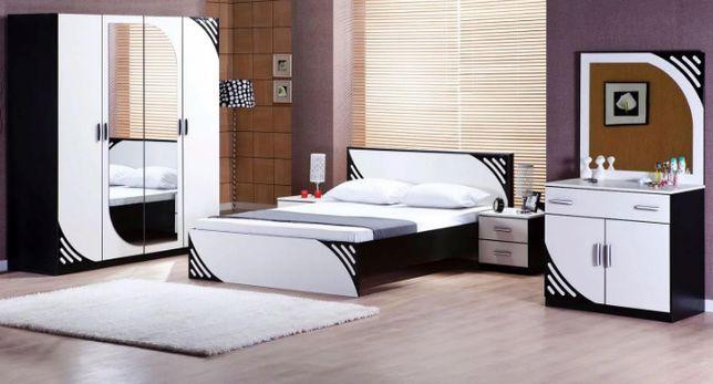 Мебель. Спальня. Embawood Мирина 4Д белый, витрина для гостиной.