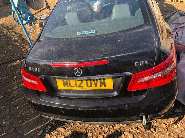 Dezmembrez Mercedes w207  e classe