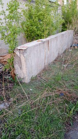 Керамзитовая панель . Длина 6 м , высота 1,2 м