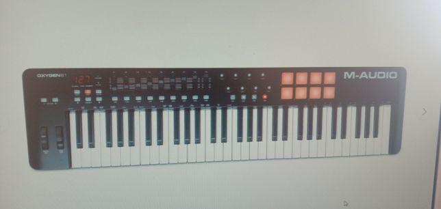 Миди клавиатура m audio oxygen 61