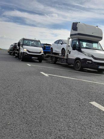 Transport autoturisme utilaje GERMANIA BELGIA OLANDA