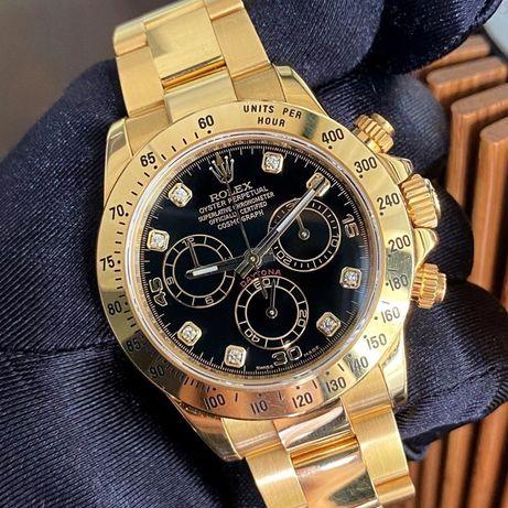 Rolex Daytona Gold Diamond Dial 116528 Automatic