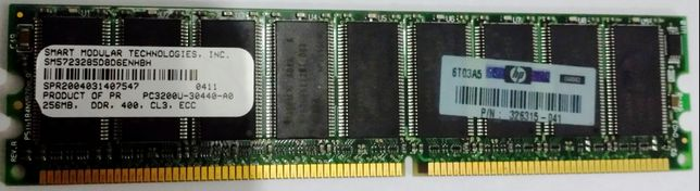 Memorie Server/Desktop Smart Modular DDR1_256 MB_PC3200_400 MHz_ECC