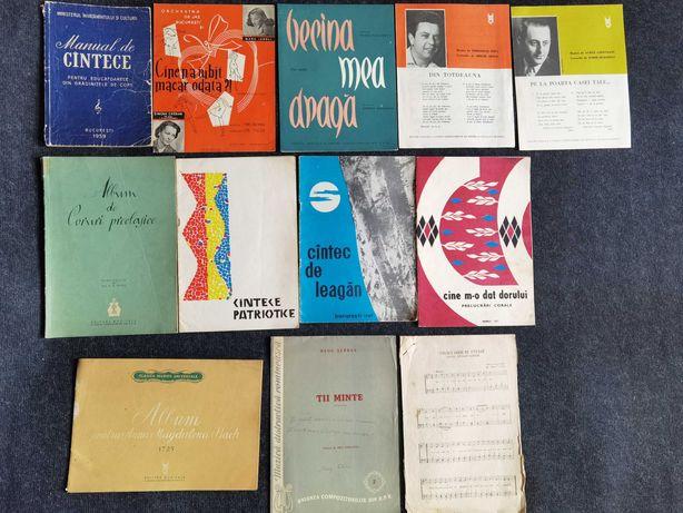 Carti vechi muzica anii '60 : Vioara,Pian,Acordeon,etc.