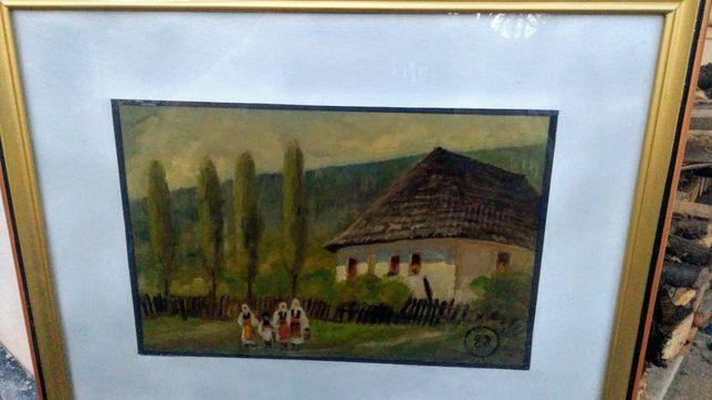 """Ecaterina Delighioz,"""" Casă de la munte Olănești """", u/c, 1934, SPLENDID"""
