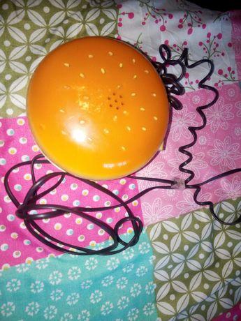 Telefon fix cu butoane,model hamburger, functional pe retele fixe