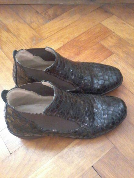 Дамски обувки/къси боти д-р Комфорт с ортопедична стелка,отговарят на