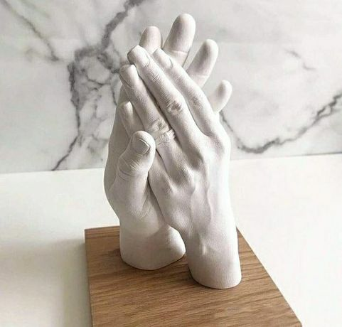 Слепки рук. Набор для скульптуры.