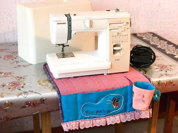 Janome 419s швейная машинка в отличном состоянии