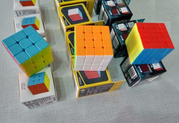 Класическо кубче Рубик 3х3х3 и/или кубчета 4х4х4 5х5х5 за подарък