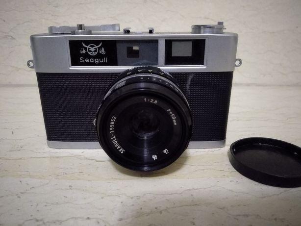 Aparat foto Seagull f=50mm 1:2.8