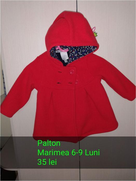 Palton rosu Oradea - imagine 1