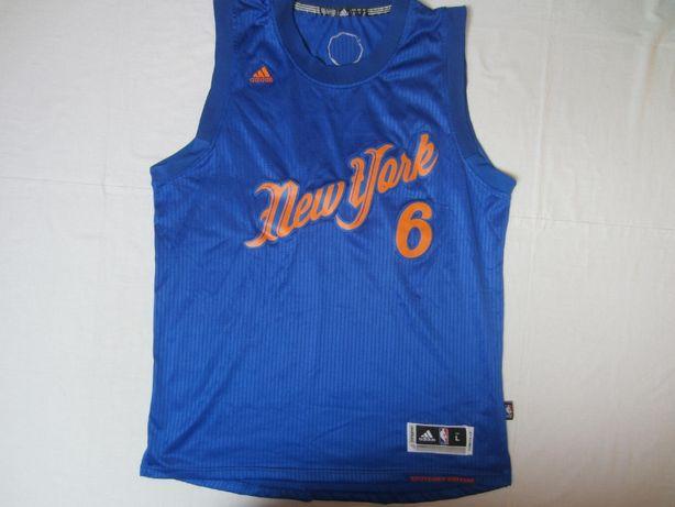 Maieu baschet PORZINGIS - NY Knicks , masura L, marca Adidas,nou