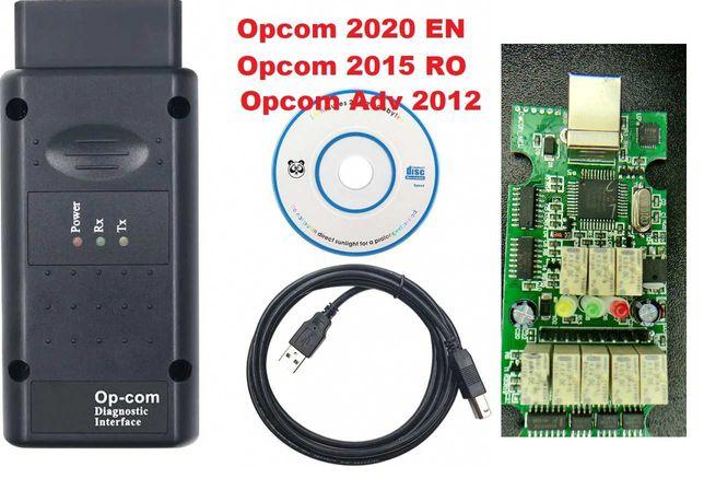 OP-Com 2020 ,upgradabila, procesor PIC original, soft 200603a