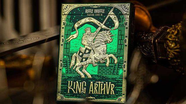 Carti de joc King Arthur (Emerald Saga) by Riffle Shuffle