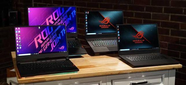 Мощные игровые геймерские ноутбуки. Core i7/Ryzen 5/7/GTX/RTX