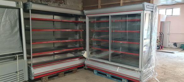 Отворена хладилна витрина с изнесен агрегат