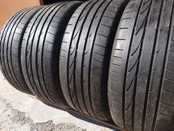 4 бр. летни гуми 255/45/20 Bridgestone AO 4,5-5,5 mm DOT 4408