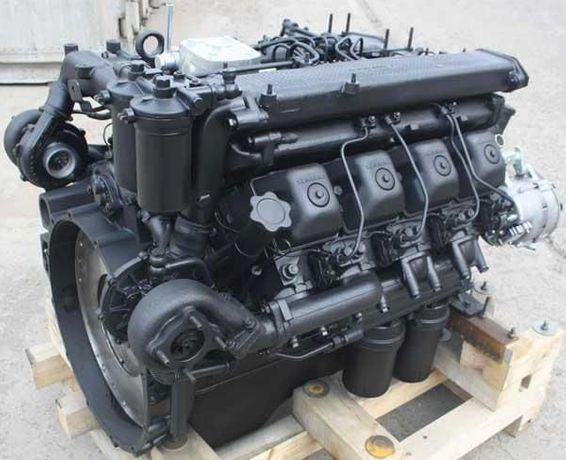 Двигатель КАМАЗ Новый!