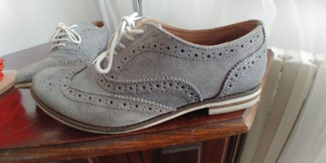 Pantofi dama oxford 37